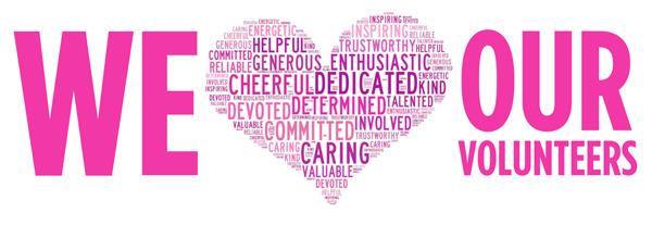 We-love-our-volunteers